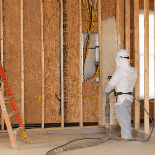 Spray foam insulation is a popular and advanced insulation technology in the home-building industry.