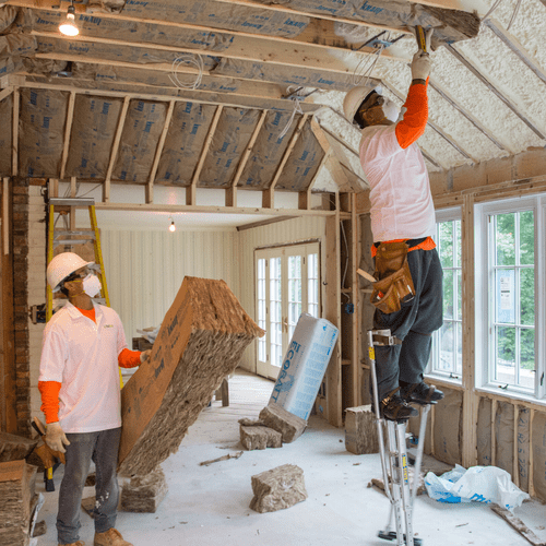 Our installers go the extra mile to ensure your insulation needs are met!