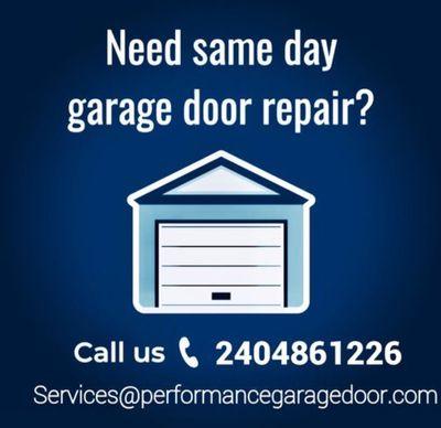 Avatar for Performance Garage Door LLC