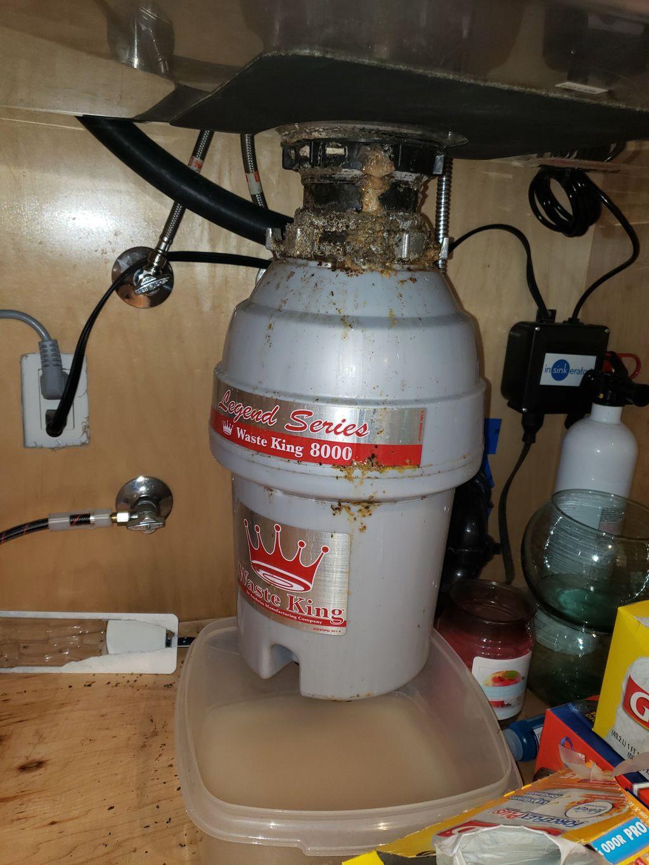 Garage disposal