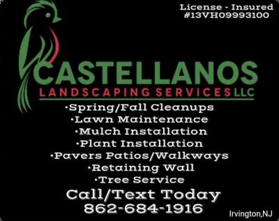 Avatar for Castellanos Landscaping Services Llc Irvington , NJ Thumbtack