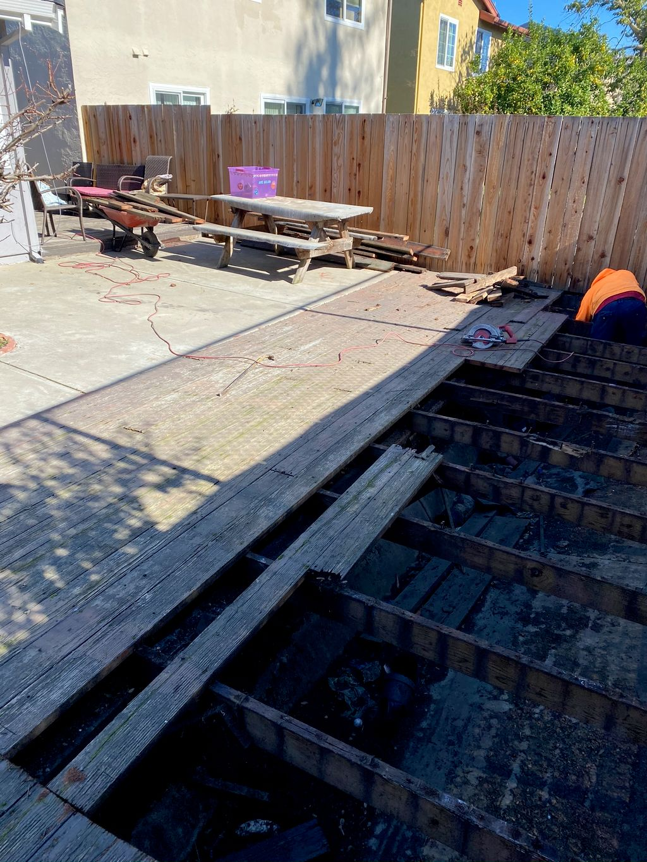 Tight deadline deck build