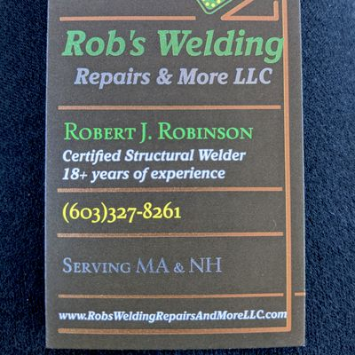 Avatar for Rob's welding repairs & more LLC Salem, NH Thumbtack