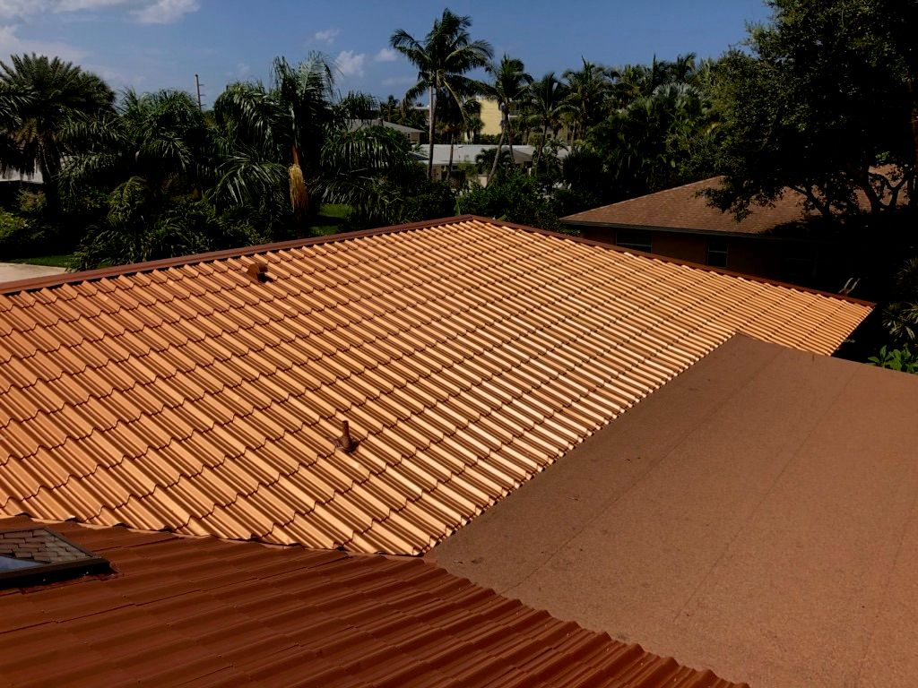Copper Metal Roofs