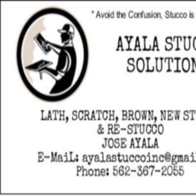 Avatar for Ayala Stucco Solutions