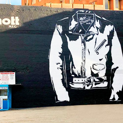 Schott NYC mural