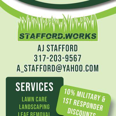 Avatar for Stafford.Works LLC Coatesville, IN Thumbtack