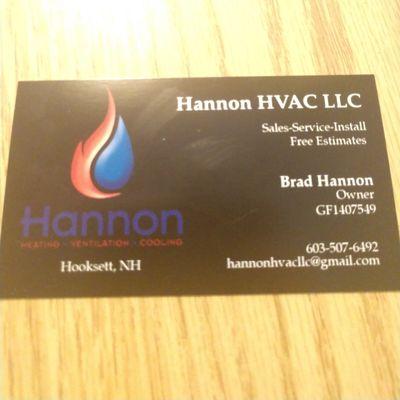 Avatar for Hannon HVAC LLC Hooksett, NH Thumbtack