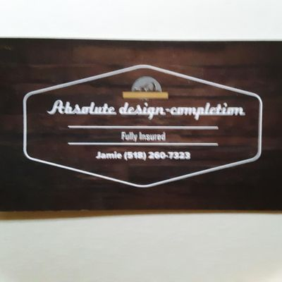 Avatar for Absolute design to completion Queensbury, NY Thumbtack