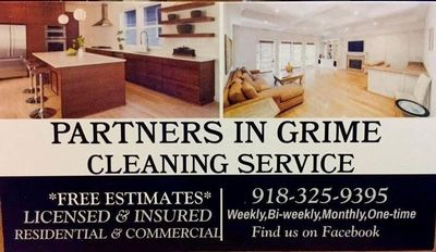 Avatar for Partners In Grime Cleaning Service LLC Afton, OK Thumbtack
