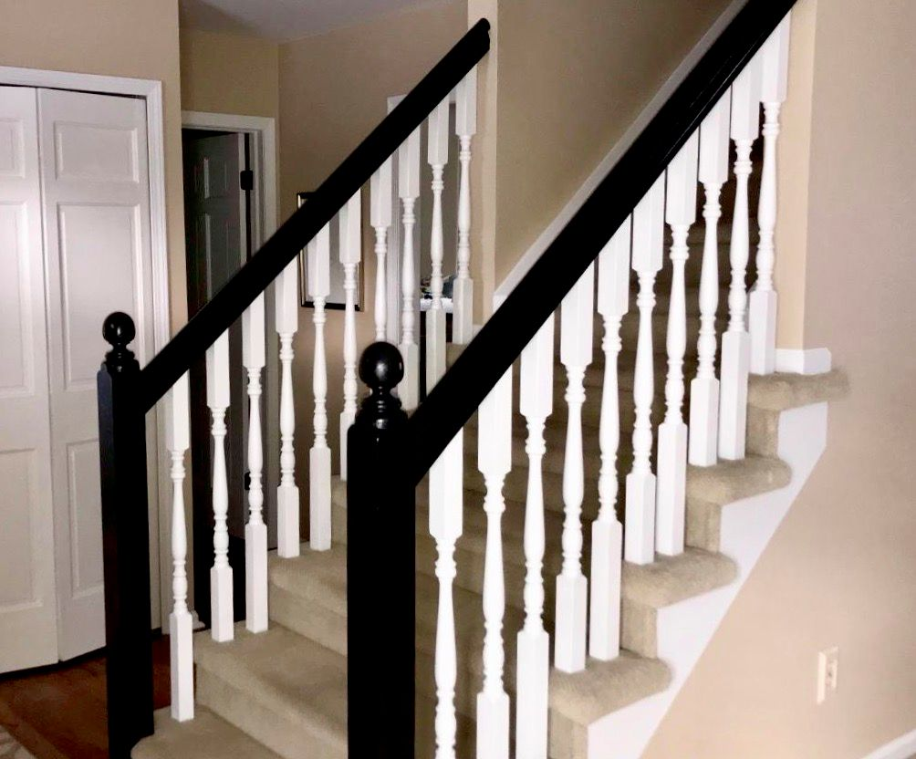 Staircase and Trim Refinishing and Repainting