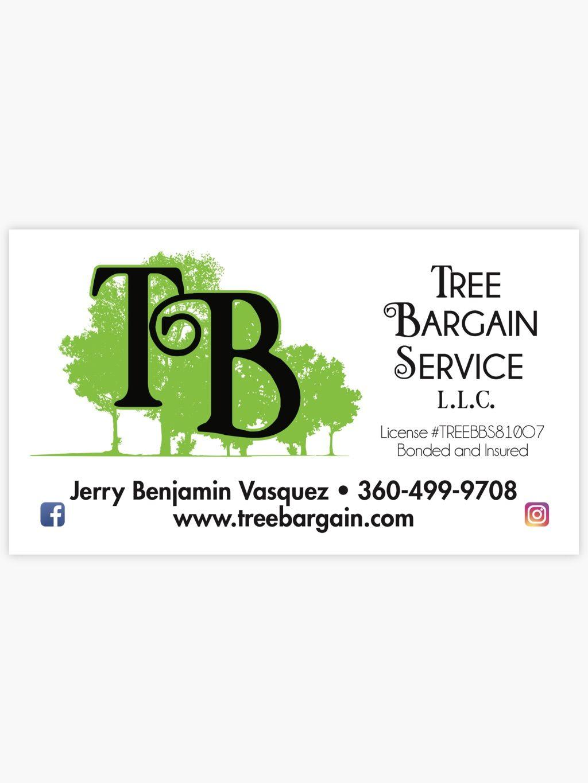Tree Bargain Service L L C Anacortes Wa
