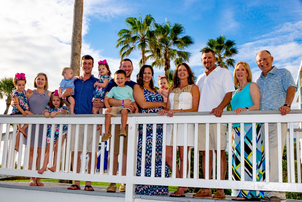 Family Reunion Beach Photoshoot
