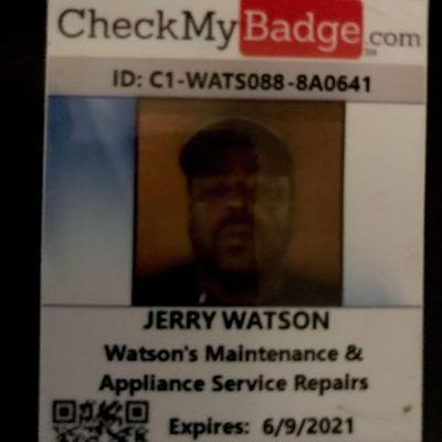 Avatar for Watsons Maintenance & Appliance Service Repairs Baltimore, MD Thumbtack