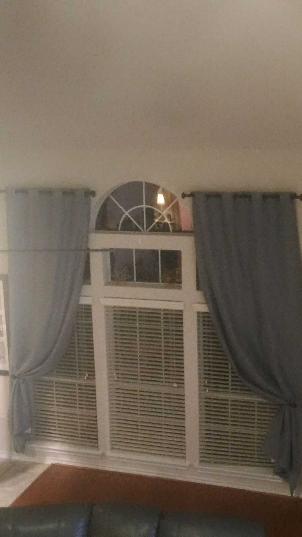 Tall ceiling drapes