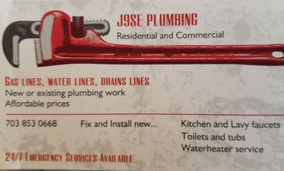 Avatar for Jose Plumbing LLC Manassas, VA Thumbtack