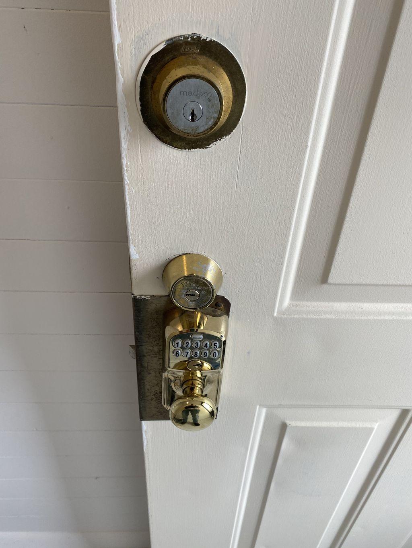Change locks