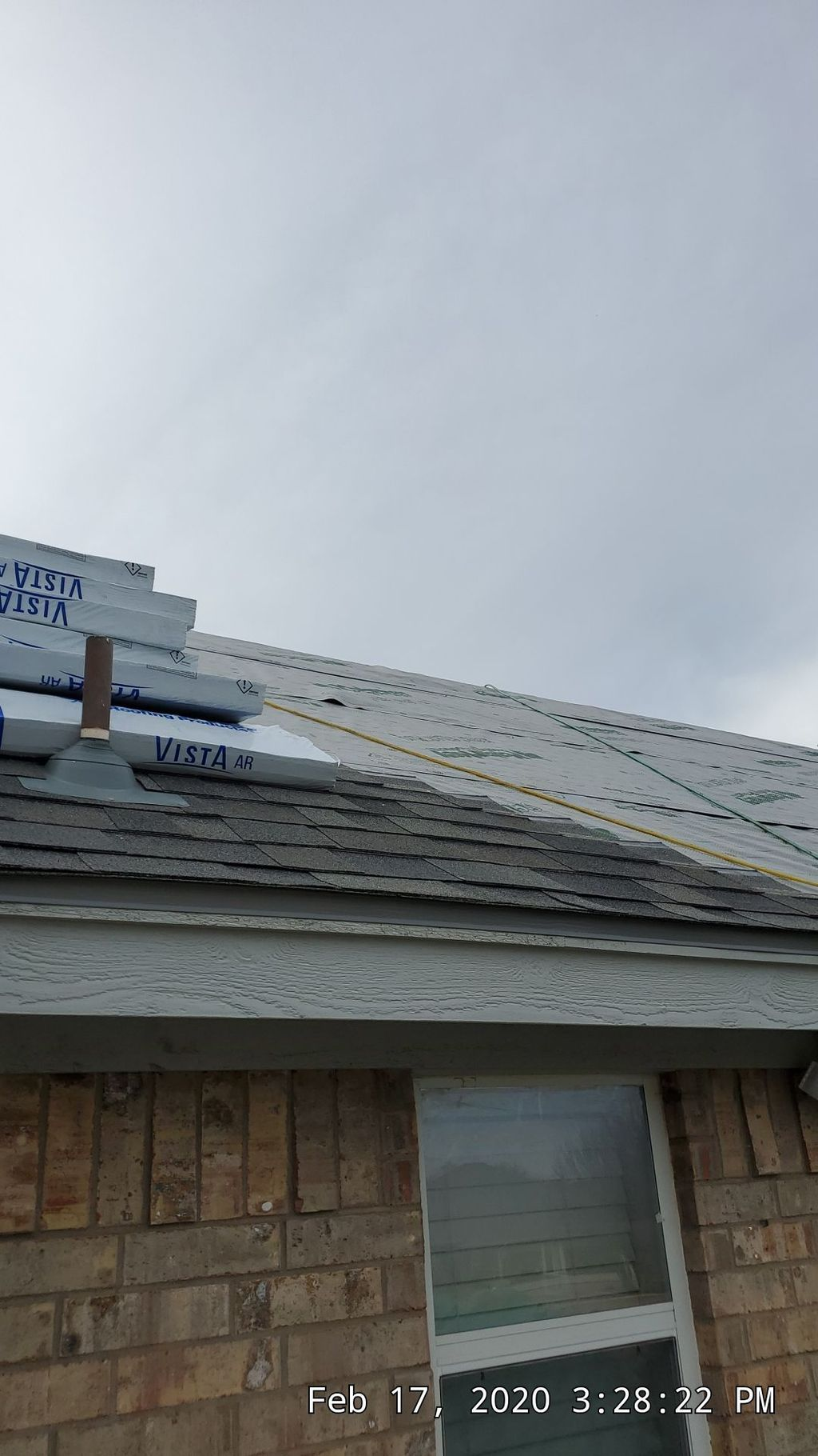 New Roof and Paint
