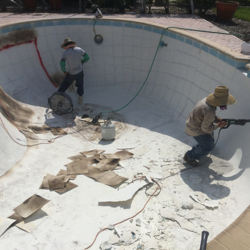 Remodelation works