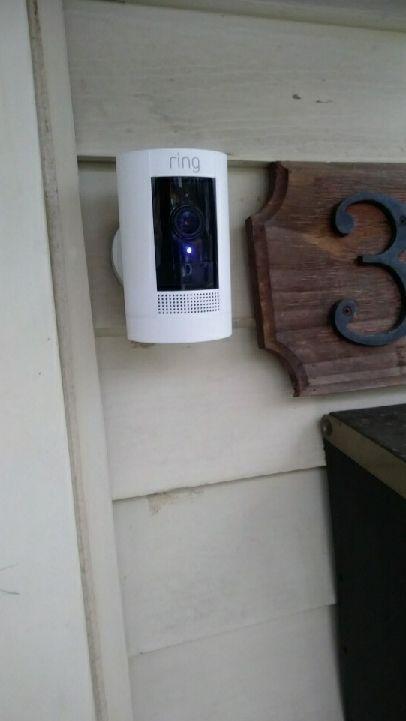 RING cameras 2 installation