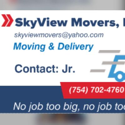 Avatar for SkyView Movers Fort Lauderdale, FL Thumbtack