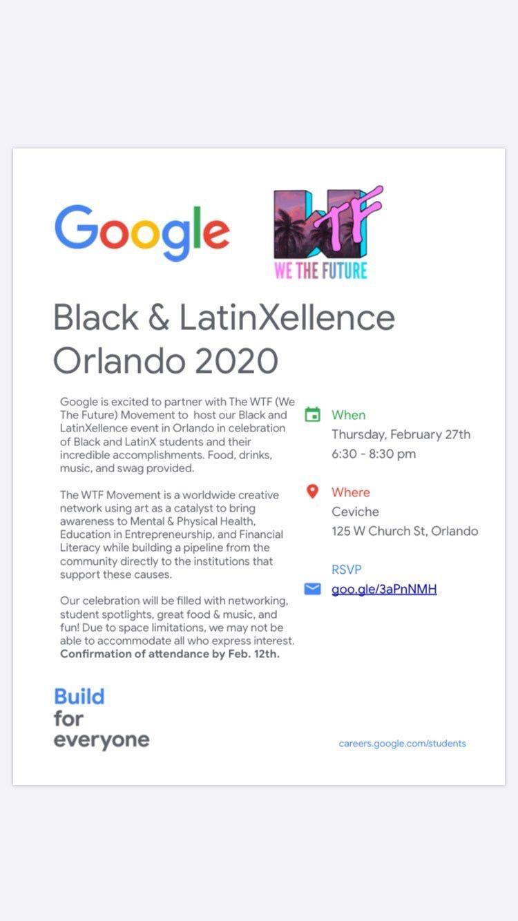 Google Black & LatinXellence 2020