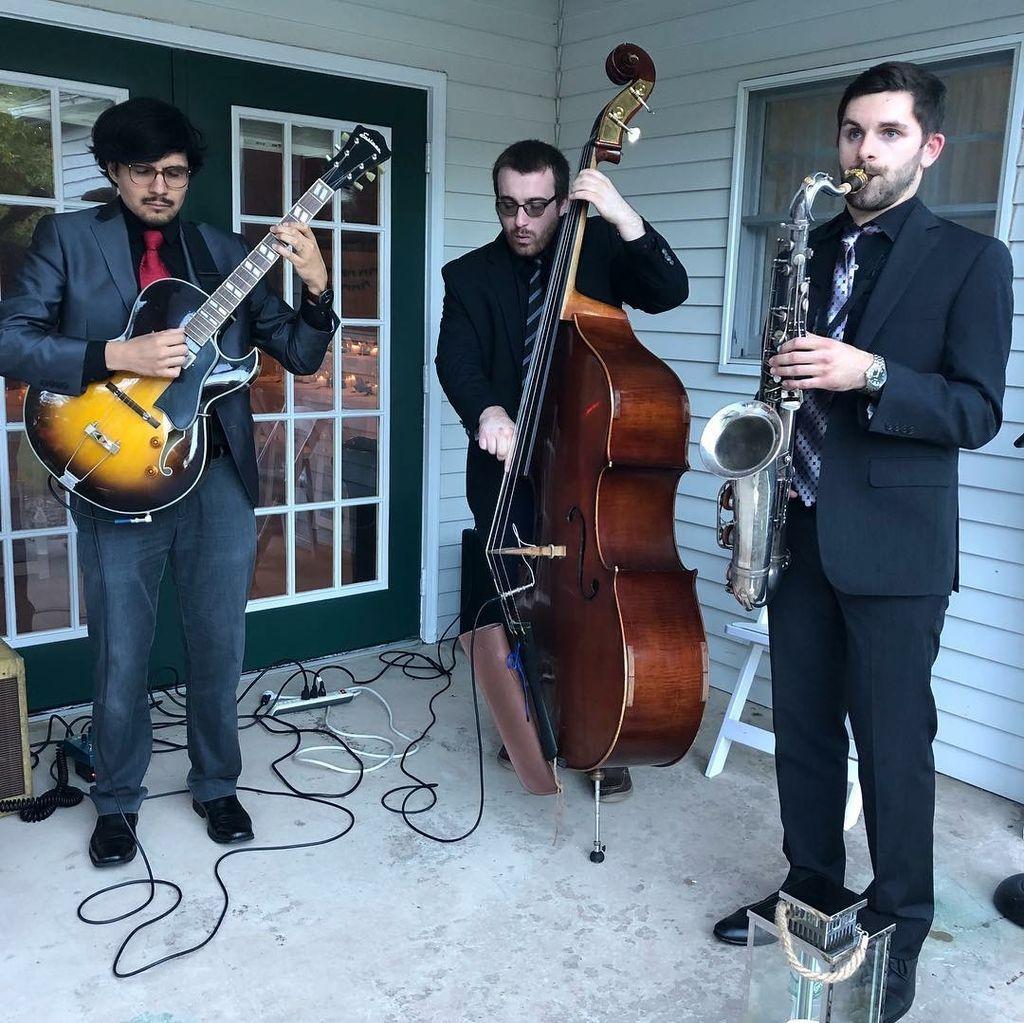 Wedding Cocktail Hour- Jazz Trio
