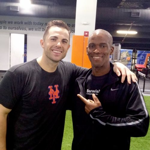 Myself with The Captain David Wright