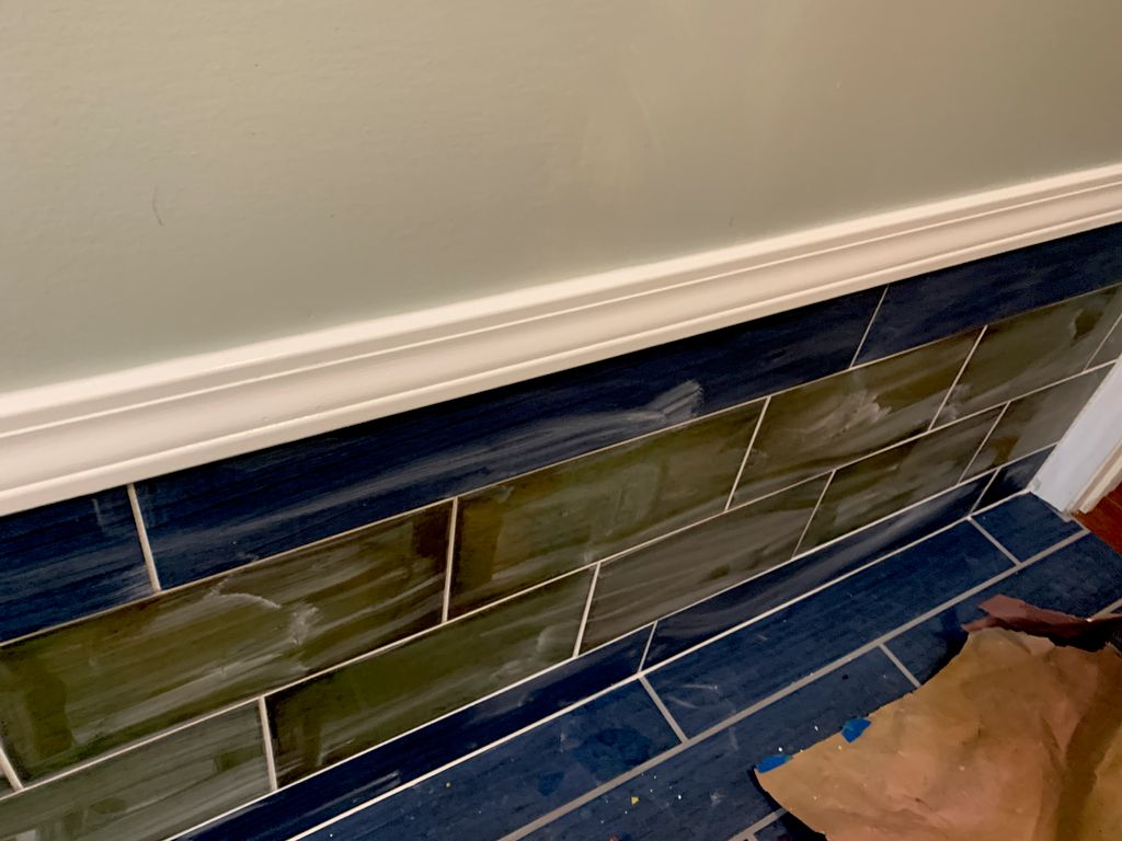 Bathroom Tile Floor and Wall