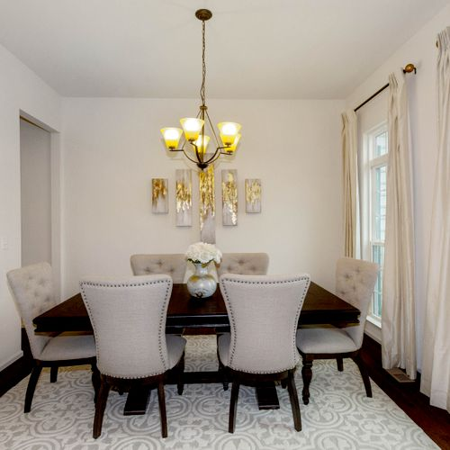 Dining Room - Staged