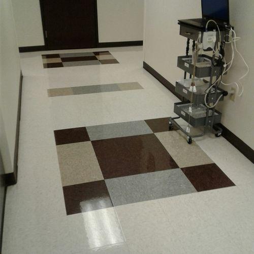 Medical Clinic Floor Work