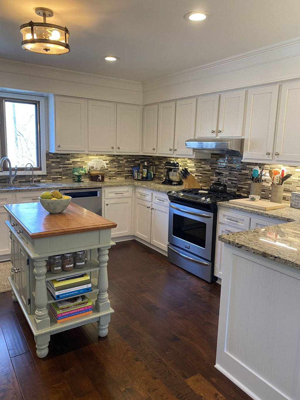 1980's Kitchen Remodel Before and After