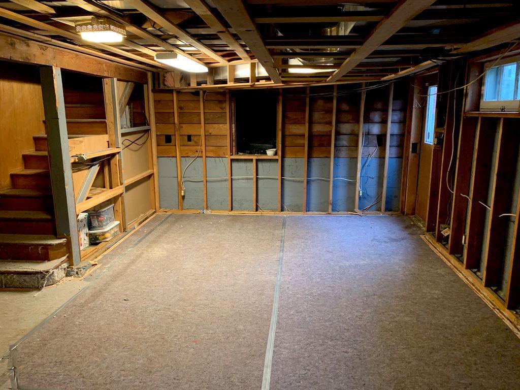 Stevens Basement Remodeling - 2020