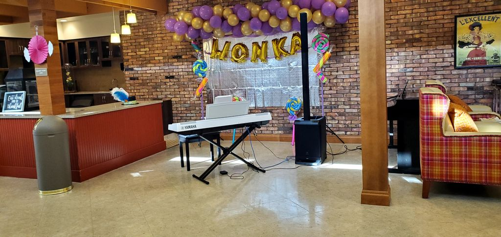 Willy Wonka Themed Event