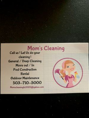 Avatar for Mom's Cleaning LLC
