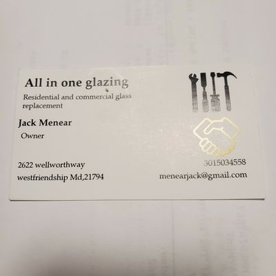 Avatar for All in one glazing West Friendship, MD Thumbtack