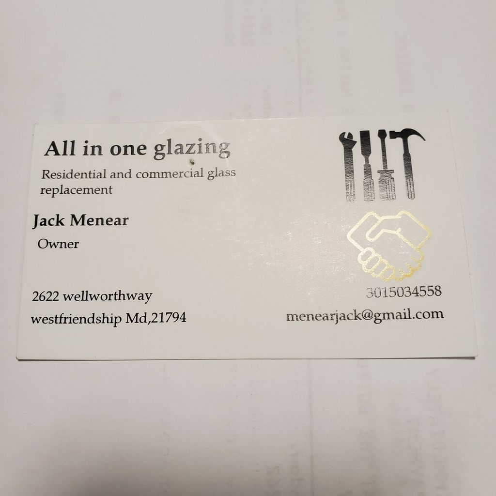 All in one glazing