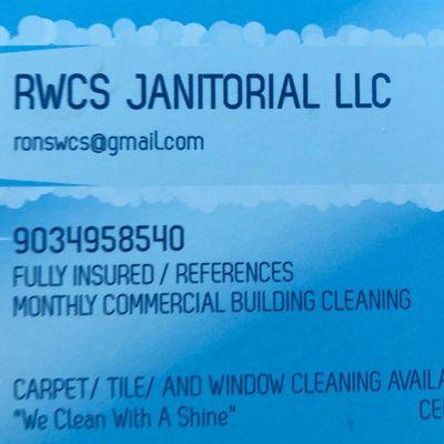 Avatar for RWCS Janitorial Sulphur Springs, TX Thumbtack