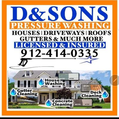 Avatar for D.AND SON'S POWER WASHING