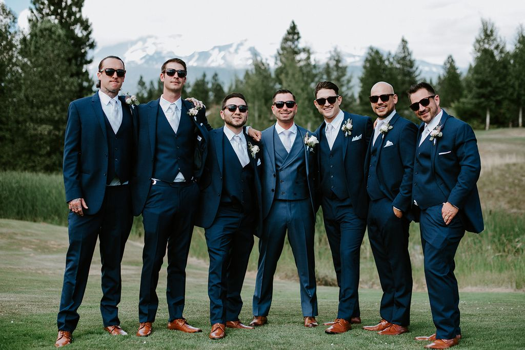 Wedding under Mount Shasta