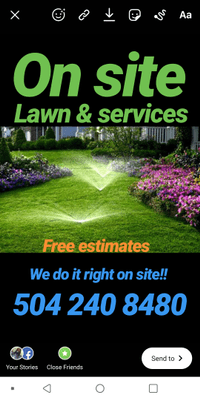 Avatar for Onsite504 lawn care New Orleans, LA Thumbtack