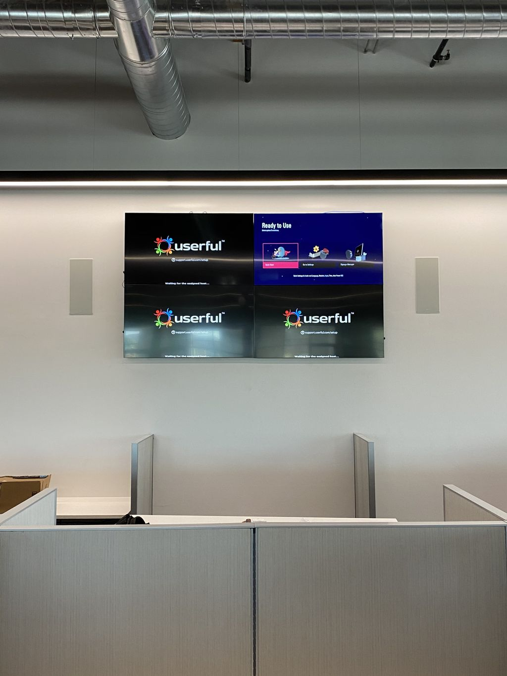 8ft x 4 ft Video Wall