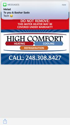 Avatar for High comfort heating and cooling