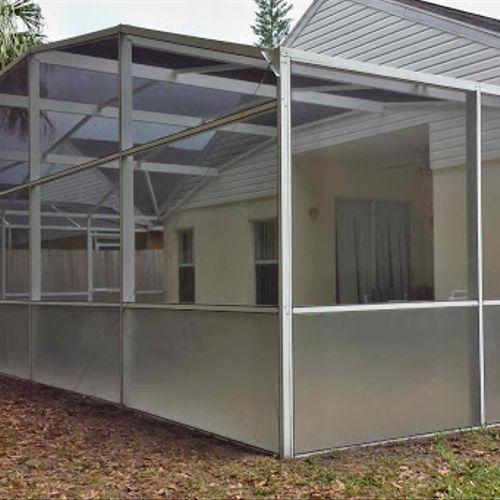 Florida Shield Glass Screen