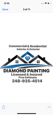 Avatar for Diamond Painting LLC Rochester, MI Thumbtack