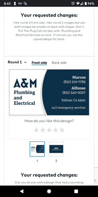 Avatar for A & M Plumbing and Electrical