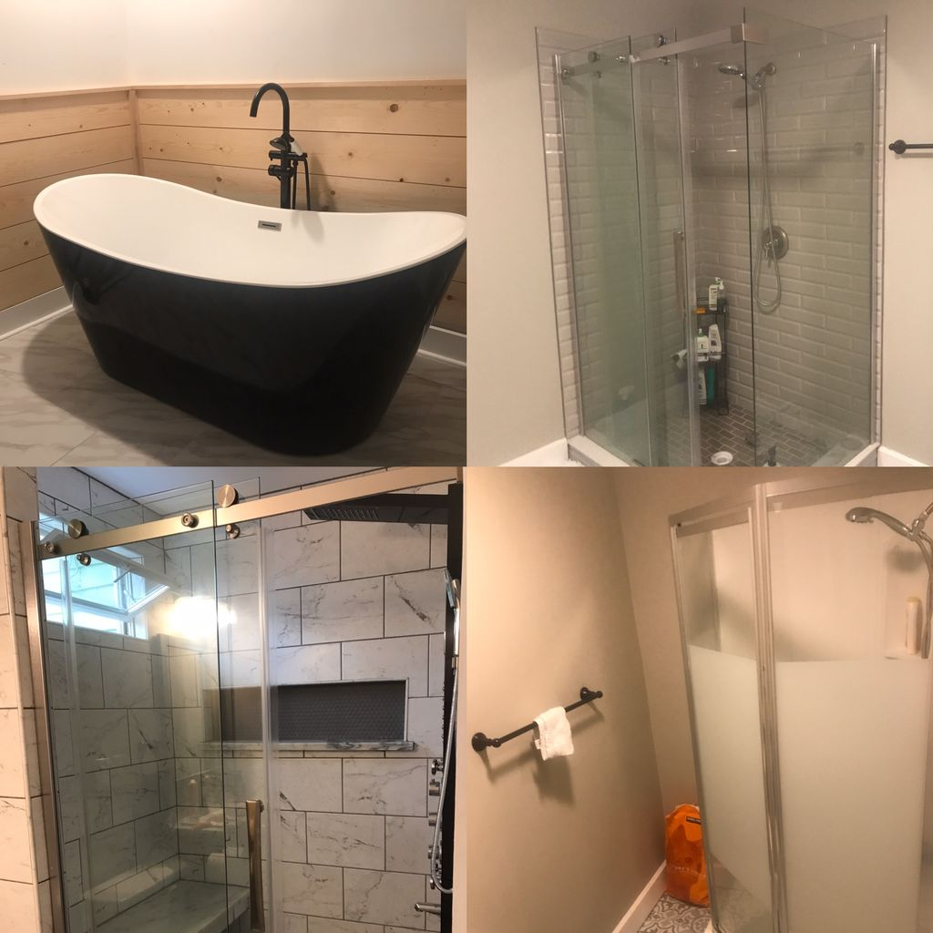 Double bath remodel