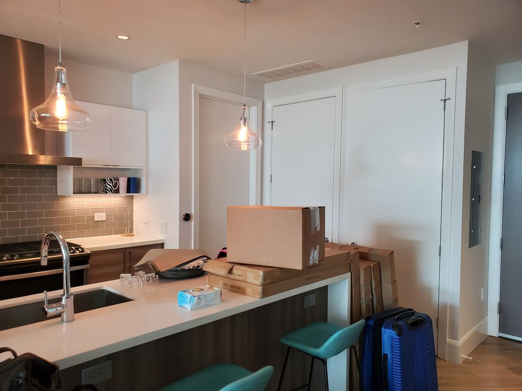A full 2 bed apartment unpacking and organizing