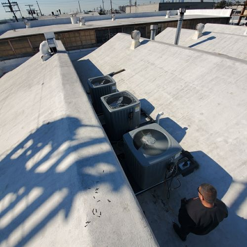 Another rooftop installation in Los Angeles