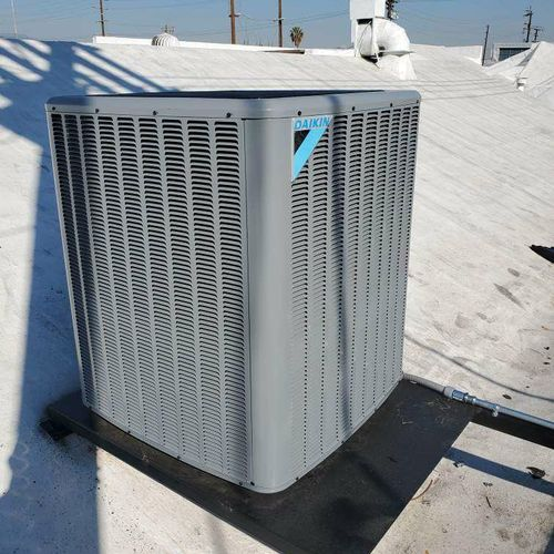 commercial Heating and cooling systems installed in Los Angeles